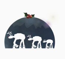Christmas pud walk Kids Tee