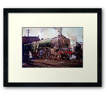 """""""Kenilworth"""" on shed. Framed Print"""