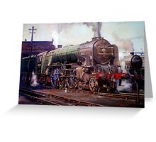 """Kenilworth"" on shed. Greeting Card"