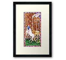 Medieval Chariot Framed Print