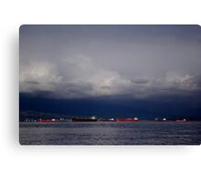 Burrard Inlet, Vancouver Canvas Print