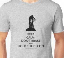 Keep Calm, Cross Country MTB , Mt Stromlo BLACK Unisex T-Shirt