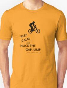 Keep CALM: Downhill MTB Mt Stromlo BLACK Unisex T-Shirt