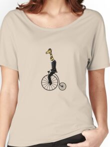 Penny-farthing Giraffe Women's Relaxed Fit T-Shirt