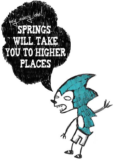 Spring Wisdom Hedgehog by stevontoast