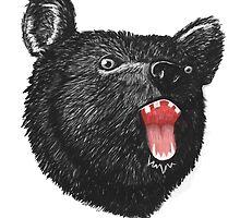 Hey it's a Bear  by stevontoast