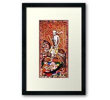 Medieval Death painting Framed Print