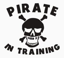 Pirate In Training Kids Tee