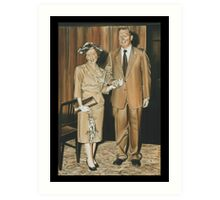 1950's Wedding Art Print