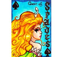 The Queen of Spades Photographic Print