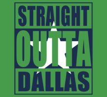 Straight Outta Dallas Flag One Piece - Short Sleeve