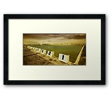 Merewether Ocean Baths 01 Framed Print