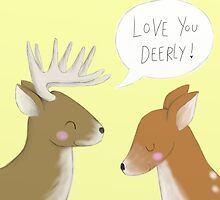Love You Deerly by Ellen Stubbings