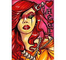 The Queen of Hearts Photographic Print