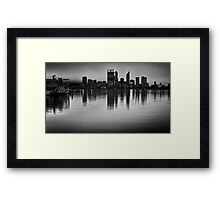 The Decoy - Perth, Western Australia Framed Print
