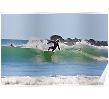 Cutback - Agnes water point - Australia Poster