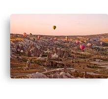 High In The Sky Canvas Print
