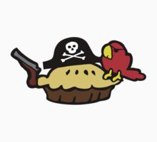 Pie Pirate Kids Tee