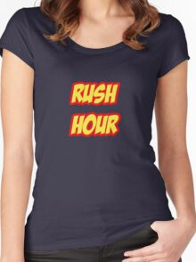 Rush Hour Women's Fitted Scoop T-Shirt