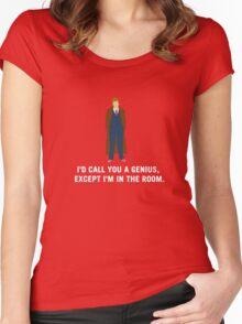 10 - Genius  Women's Fitted Scoop T-Shirt