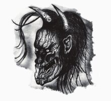 Hannya Mask Tattoo by TheCroc1979