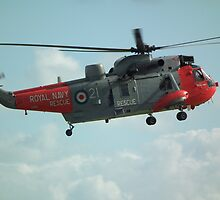 Westland Sea King HU5 of 771 NAS  by mike  jordan.