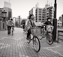Bicycle Errands - Japan by Norman Repacholi