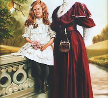 Victorian Mother and Daughter by wonder-webb
