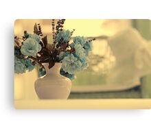 Blue Harmonie Canvas Print