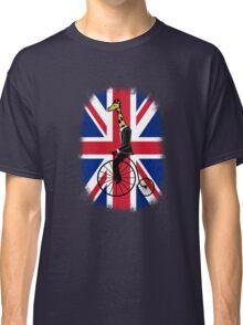 Penny-farthing Giraffe (London Version) Classic T-Shirt