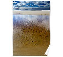 Tannin Beachscape - Marion Bay, Tasmania Poster