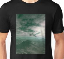 Flying over Blue Hills Unisex T-Shirt
