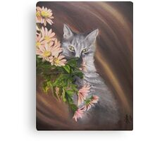Romantic soul- oil Canvas Print