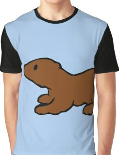 Cute Otter Graphic T-Shirt
