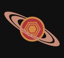 Saturn's Hexagon by jezkemp