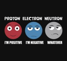 Proton Electron Neutron T Shirt One Piece - Long Sleeve