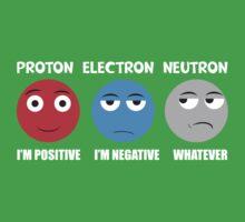 Proton Electron Neutron T Shirt Kids Tee