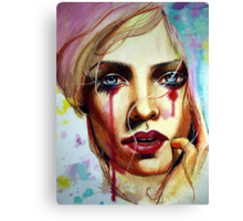 Scarlet (VIDEO IN DESCRIPTION!) Canvas Print