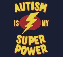 Autism is My Super Power One Piece - Long Sleeve