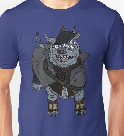 Bloodborne - Hunter maneater boar Unisex T-Shirt