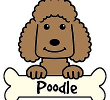 Chocolate Poodle by AnitaValle