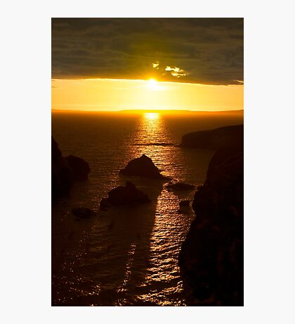 sunset over the wild atlantic way Photographic Print