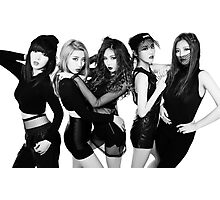 4 minute poster Photographic Print