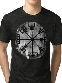 Runic Magic, Norse Compass - 'Vegvisir' Tri-blend T-Shirt