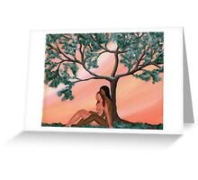 A Moment of Calm Greeting Card
