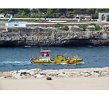 Harbour Service Boat Photographic Print