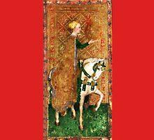 Medieval Lady on Horse Unisex T-Shirt