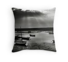 Burnham Overy Staithe, Norfolk, UK Throw Pillow