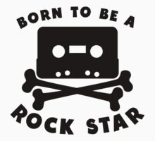 Born To Be A Rock Star Baby Tee