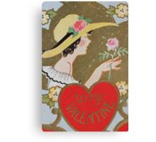 1920s Valentine 9 Canvas Print